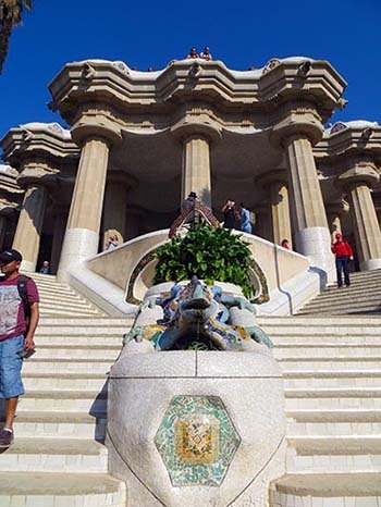 visitate Parc Guell